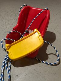 Outdoor swing child seat