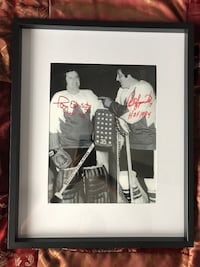 Phil & Tony Esposito dual signed photo  Châteauguay, J6K 2M7
