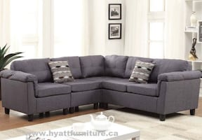 Brand new Fabric Sectional Sofa Set