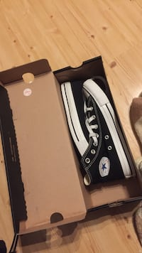 svart Converse high-top sneakers Kristiansand S, 4623
