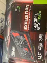 1050 Ti ASUS EXPEDITION