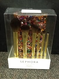 Sephora Collection Glitter O'Clock Brush Set Brand New Hagerstown, 21740