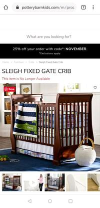 Pottery Barn Fixed Gate Crib   Bethesda, 20817