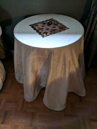 white and brown wooden table Vaughan, L4H 1C3