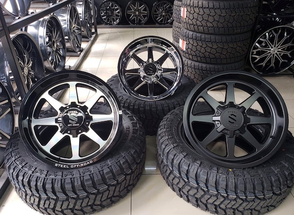 Off Road Tires For Sale >> 20x10 20x12 Steel Off Road Bulip Wheels With Off Road Tires