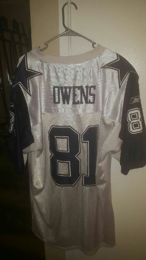 the latest 30a07 23009 Rare Terrell Owens authentic Cowboys jersey. New2x