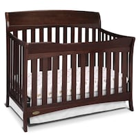 Graco® Lennon 4-In-1 Convertible Crib in Espresso Chantilly, 20152