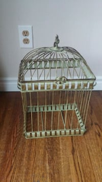 "17"" highx11"" wide green cage wrought iron look Halton Hills, L7G 3Y3"