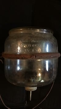 Clear glass jar with lid Hanover, 47243
