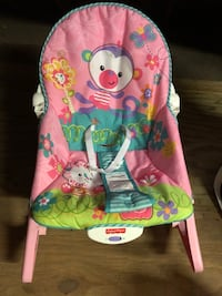 Green and pink fisher-price bouncer Chesapeake, 23323