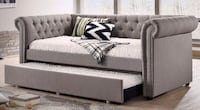 Ellie Gray Twin Daybed with Trundle | 5332 1201 mi
