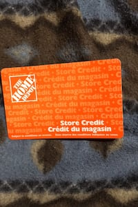 Home Depot Gift Card Value at $155.05 asking for $80 Calgary, T1Y 4J3