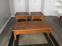 Coffee table and end tables Kirkland, H9J 3X3