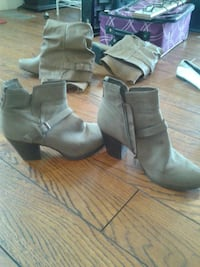 Zip up George boots size 10 price negotiable  Saint Catharines, L2S 1J1