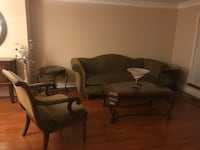 6 piece living room set including coffee and end tables Fairfax Station