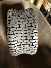 Two Commercial mower tires