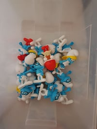 Smurf colection