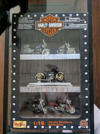 In the box Maitso 1:18 Harley Davidson Collection. Halifax, B3H 2W3