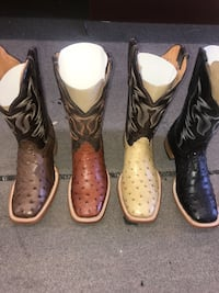Men's all sizes Ostrich Boots Houston, 77054