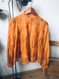 Blouse in orange/rusty color Barcelona, 08003