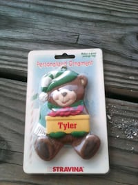 Tyler Personalized name ornament Anderson, 46011