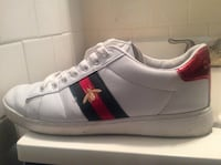 'Gucci' Ace Embroidered Sneakers (size 9.5) Silver Spring, 20902