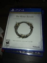 The Elder Scrolls PS4 game case null