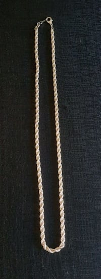 """Solid Sterling Silver 24 """" Heavy Rope Chain Cambridge, N1S 4Z3"""