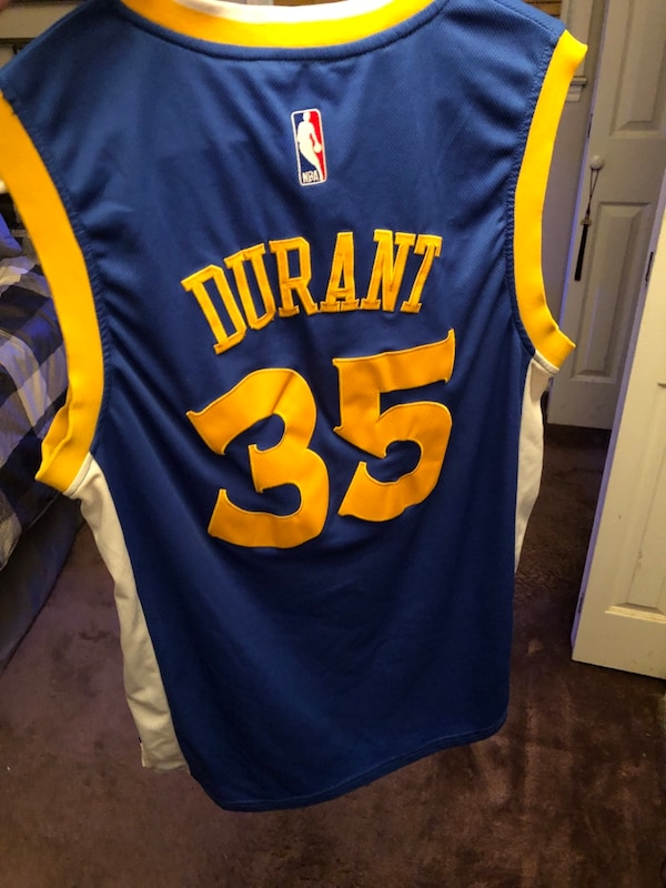 newest bf630 6265d Kevin Durant Golden State Warriors Jersey
