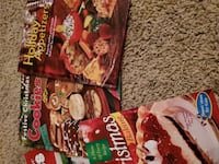 Christmas cookbooks lot Las Vegas, 89139