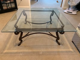 High Quality Thick Glass Coffee Table