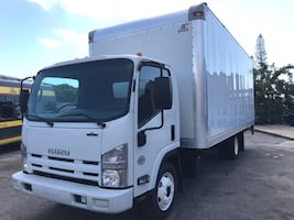 2015  Dry-Box 20' Boxtruck with Liftgate Diesel clean