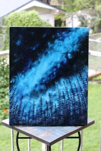 Galaxy Oil painting landscape by local artist Falls Church, 22046