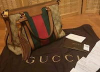 Authentic gucci monogram small duffel bag Toronto, M9B 1L2
