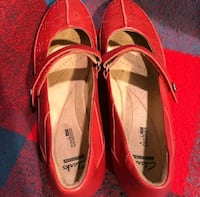 Clarks NWT Red sz 12 shoes Fountain Valley, 92708