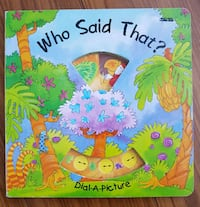 Who Said That? - A Dial-a-Picture Book Calgary, T3J 3J6