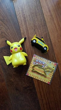 Vintage Pikachu Toy Lot kids