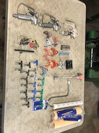 Lot of paint sprayer tips and attachments  Auburn