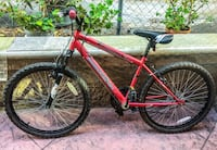 red and black hardtail bike Los Angeles, 90046