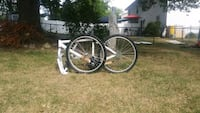 two black-and-gray bicycle wheels Odenton, 21113
