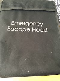 **RARE** Emergency Escape Hood  Dumfries, 22025