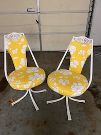 Vintage Virtue Brothers of California Chairs