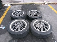 four gray multispoke vehicle wheels and tires West Valley City, 84119