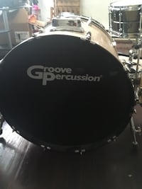 groove percussion drum set  160 mi