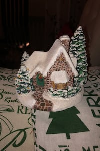 Christmas village candle holder Calgary, T2Y 2J1