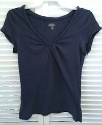 AUTHENTIC OLD NAVY SMALL NAVY BLUE V NECK TOP Broomall