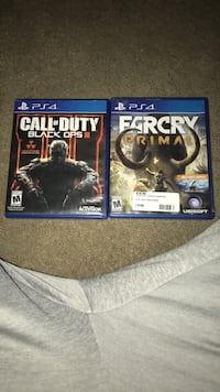 two PS4 Call of Duty and Call of Duty cases Hyattsville, 20782
