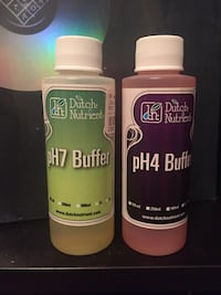 Ph7 and Ph4 buffers from growing plants Toronto, M5A
