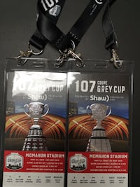 2 - Grey Cup Tickets null