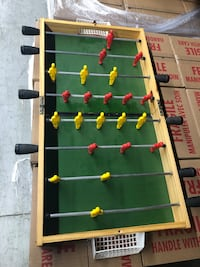 Mini Folding Foosball Table